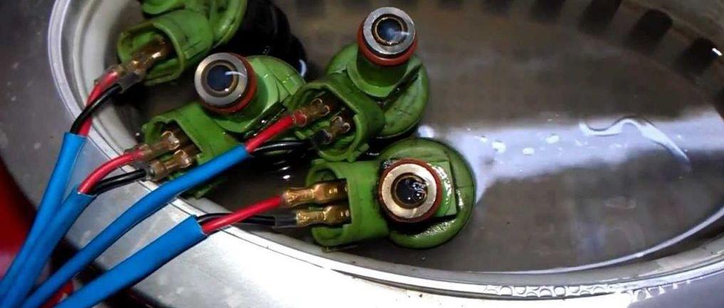 Промывка форсунок дизельного двигателя